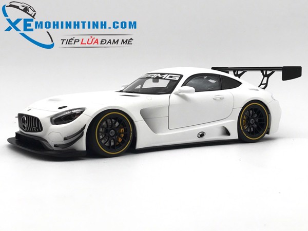 Mercedes-Benz AMG GT3 plain color version Autoart 1:18 (Trắng)