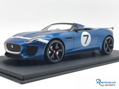Jaguar  F-Type Project 7 Concept Ecurie  TOPSPEED 1:18 (Xanh)