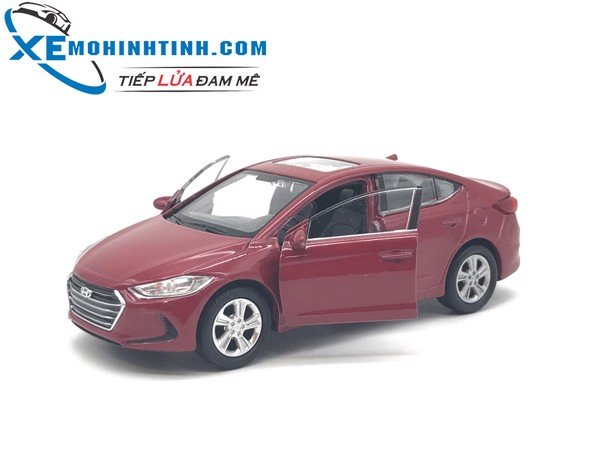 Hyundai Elantra WELLY 1:36 (Đỏ)