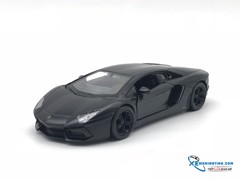 Lamborghini Aventador LP700-4 WELLY 1:36 (Đen)