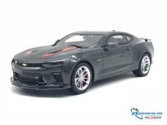 Chevrolet Camaro SS Fifty Anniversary ( Nightfall grey ) GTSpirit 1:18 (Đen)