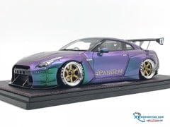 Nissan GTR-R35 LB Works  Ignition 1:18 (Tím)