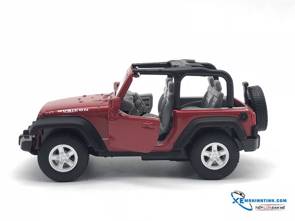 Jeep Wrangler Rubicon  WELLY 1:36 (Đỏ)