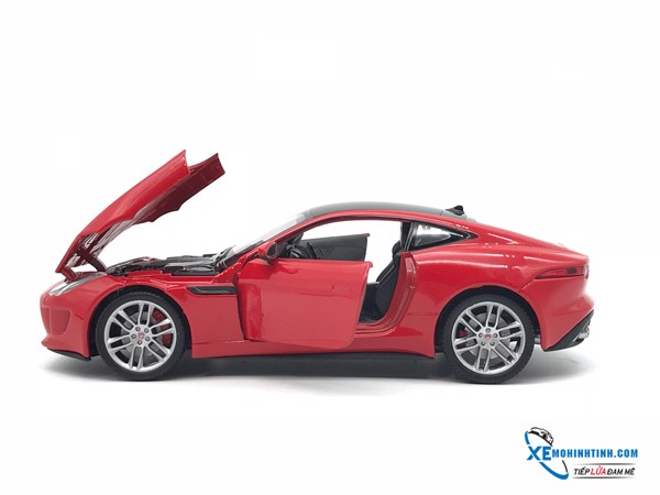 Jaguar  F-TYPE  Welly 1:24 (Đỏ)