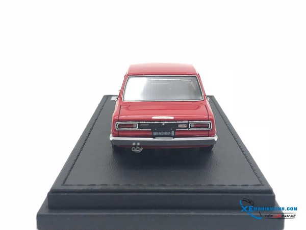 Nissan Skyline 2000 Gt ( PGC10 ) Ignittion model 1:43 ( Đỏ )
