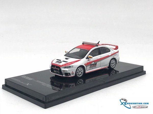 Tarmac Works Mitsubishi Lancer Evo X Pikes Peak Safety Car