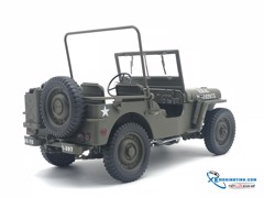 Jeep FX Jeep 1941 Willys MB WELLY 1:18 (Xanh)