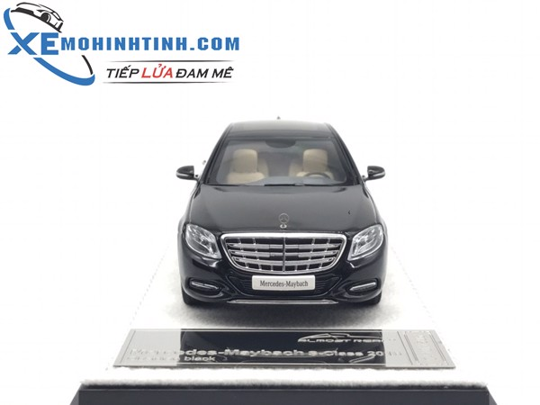 Mercedes-Benz S600 1:43 Almost Real (Đen)