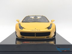 Ferrari 458 LB Roadster Liberty Walk 1:18 (Vàng)