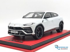 Lamborghini Urus Bianco / Carus  ( Taigete Wheels) Handmade/Collection MR Model 1:18 ( Trắng )