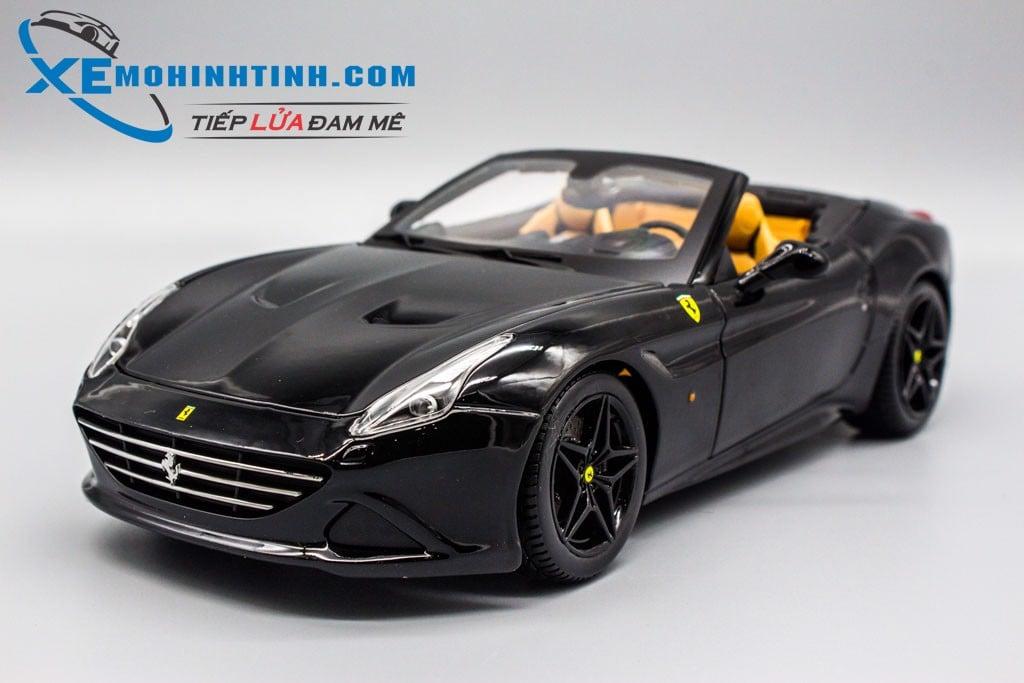 Xe Mo Hinh Ferrari California T Special Mui Trần 1 18 Bburago đen Shop Xe Mo Hinh Tĩnh