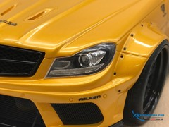 Mercedes-Benz C63 Liberty Walks 1:18 ( Vàng ) - Da