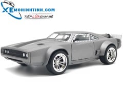 Special Dom'S Ice Charger 1:24 (Bạc)