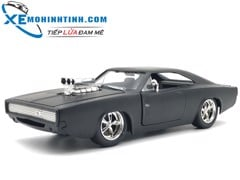 Special Dom'S Dodge Charger 1:24 (Đen)