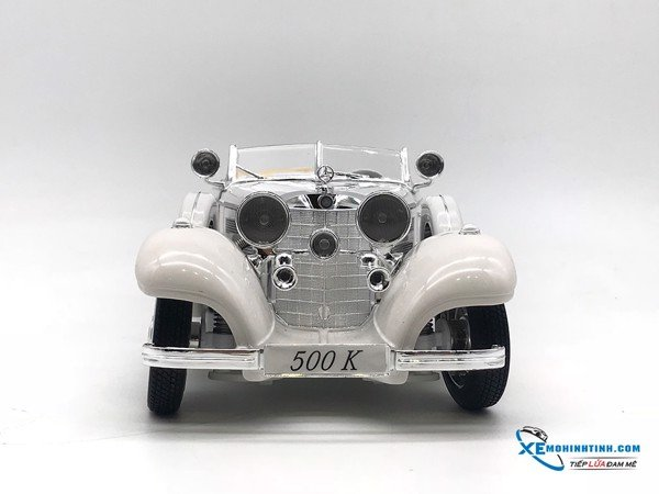 Mercedes-Benz 500K Typ Special Roadster (1936) 1:18 Maisto ( Trắng )