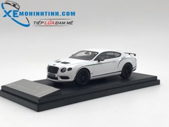 Bentley continental GT3-R 2015  Almost Real 1:43 (Trắng)