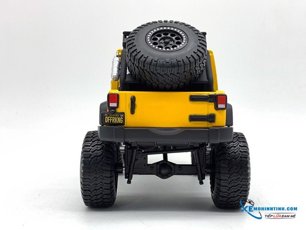 Jeep 2015 Wrangler Unlimited 1:24 Maisto ( Vàng )