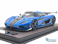 Koenigsegg Agera RSN Limited No.11/298 Frontiart 1:18 ( Xanh )
