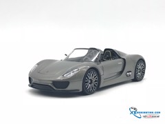 Porsche 918 Spyder WELLY 1:24 (Xám)