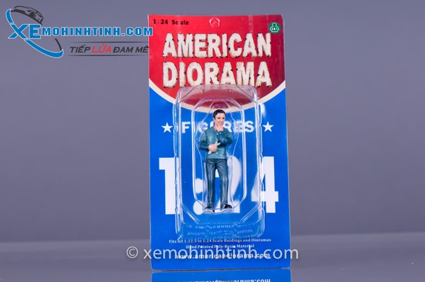 Figure Mechanics Pete 1:24 American Diorama