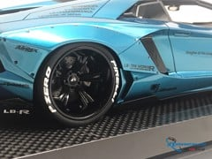 Lamborghini Aventador Liberty Walks Roadster Super S 1:18 (Xanh)