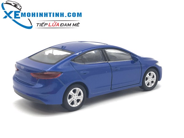 Hyundai Elantra WELLY 1:36 (Xanh)