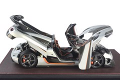 Koenigsegg One:1  Frontiart 1:18 ( Bạc ) FULL OPEN