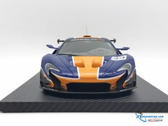 McLaren  P1™ GTR BLUE/ORANGE TSM 1:18 (Xanh)