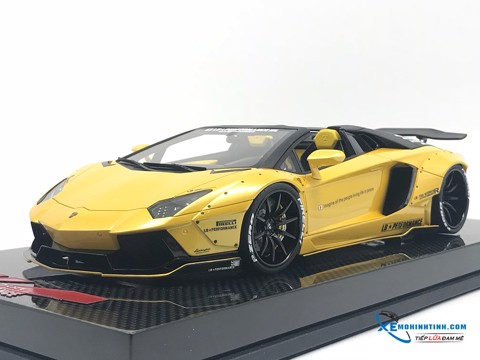 Lamborghini Aventador Liberty Walks Roadster Super S 1:18 (Vàng)