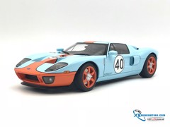 Ford GT 2004 Autoart 1:18 ( Xanh , Cam )