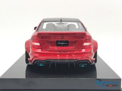 Mercedes-Benz C63 Liberty Walks 1:18 ( Đỏ ) - Carbon