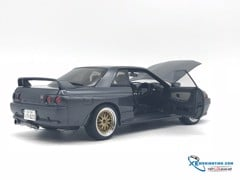 Nissan Skyline GT-R (R32) (Gun Grey Metallic) Wangan Midnight 1:18 ( Xám )