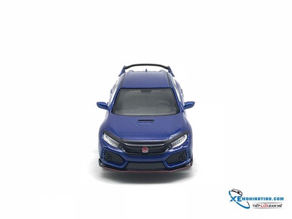 TSM Model Honda civic Type R (FK8) Aegean 1:64 (Xanh)