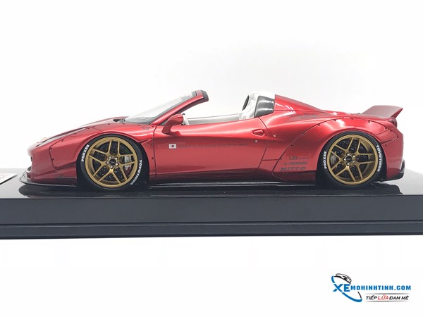 Ferrari 458 LB Roadster Liberty Walk 1:18 (Đỏ)