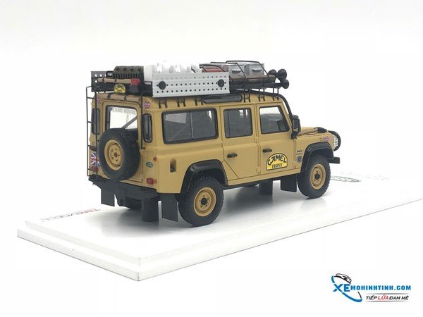Land Rover Defendes 1989 Camet Trophy Winner TSM 1:43 ( Vàng )