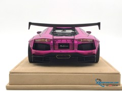 Lamborghini Aventador LP700-4 Liberty Walks 1:18 ( Hồng )
