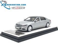 Mercedes-Benz S600 1:43 Almost Real (Bạc)