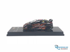 Honda Civic Type RFK 2 BTCC 2017 Gordon Shedden Tarmac Work 1:64 ( Đen )