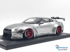 Nissan GTR R35 LB WORKS ONEMODEL 1:18 (Chrome)