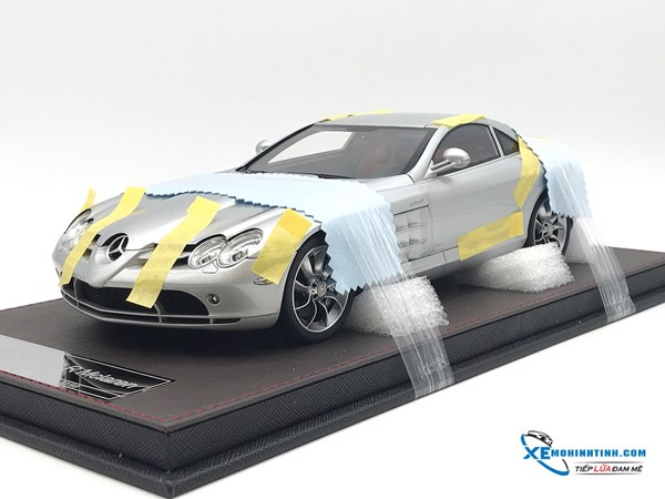 Mercedes-Benz SLR Frontiart 1:18 ( Bạc ) FULL OPEN