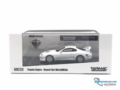 Toyota Supra Roww Reach Out Worl Wine 1:64 Tarmac Work ( Trắng )
