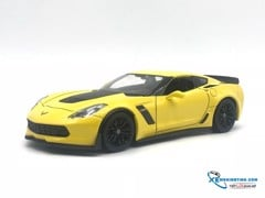 Chevrolet Corvette Z06 2017 1:24 Welly ( Vàng )