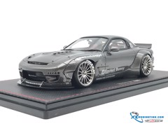 Mazda Rocket Bunny RX-7 Iginition Model 1:18 (Bạc)