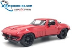 Letty'S Chevy Corvette 1:24 (Đỏ)