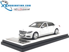 Mercedes-Benz S600 1:43 Almost Real (Trắng)