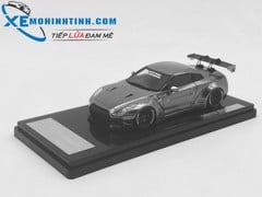 Nissan GTR R35 Liberty Walk 1:43 Onemodel (Chrome)