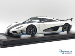 Koenigsegg Agera RS1 Frontiart 1:18 (Trắng)