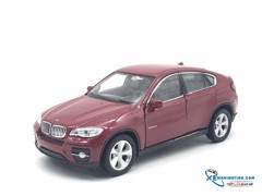 BMW X6 WELLY 1:36 (Đỏ)