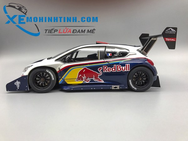 PEUGEOT 208 T16 PIKES PEAK RACE CAR 2013 RED BULL 1:18