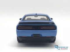 Dodge Challenger Hellcat SRT US Edition GTSpirit 1:18 (Xanh)